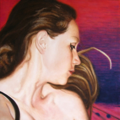 Lique Schoot, Self-portrait 05 09 05