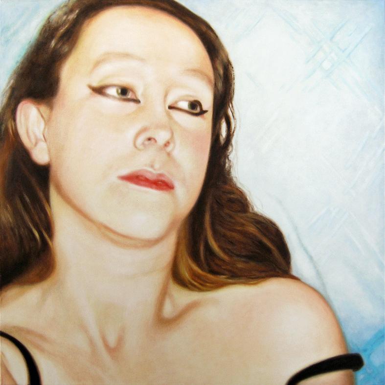 Lique Schoot, Self-portrait 05 12 11
