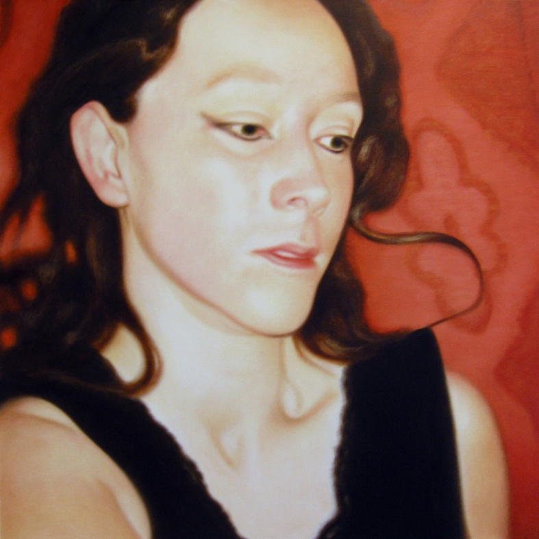 Lique Schoot, Self-portrait 08 02 12