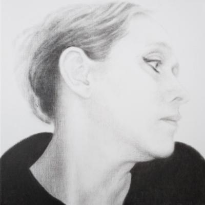 Lique Schoot, Self-portrait 09 02 20