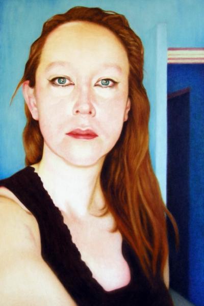 Lique Schoot, Self-portrait 09 06 18