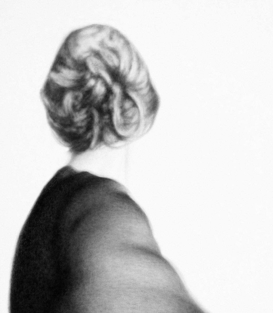 Lique Schoot, Self-portrait 13 07 02