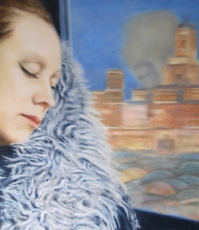 Self-portrait 'Journey through Madrid' (04 03 13)