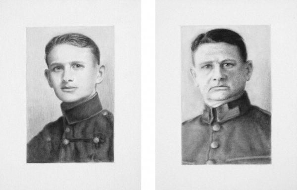 Lique Schoot, Dirk-Jan Schoot at the age of 19 and 42