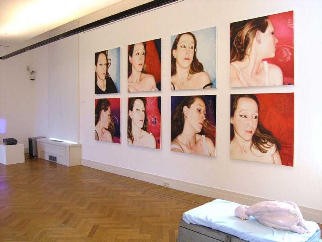 Lique Schoot, overview Exhibition Seduction, Gorcums Museum, NL