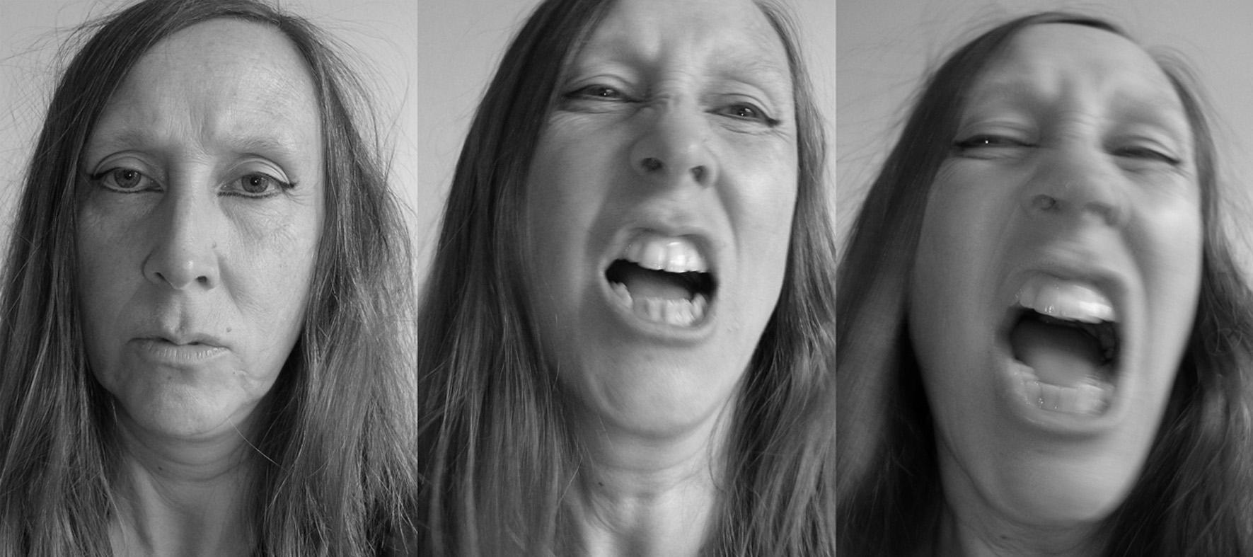 Lique Schoot, Self-portrait in Anger 17 06 15