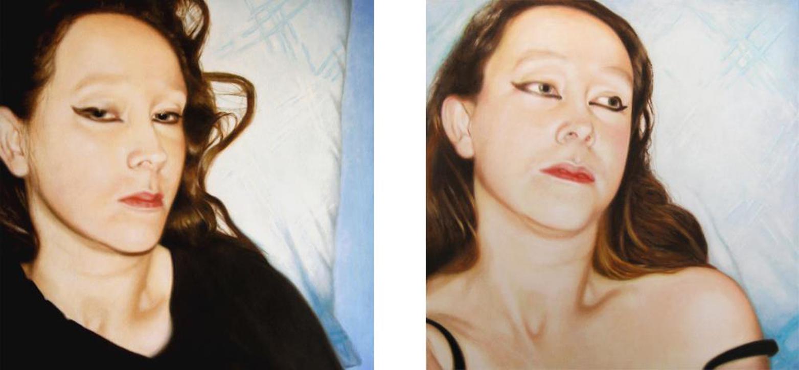 Lique Schoot, Self-portraits 05 11 25 and 05 12 11