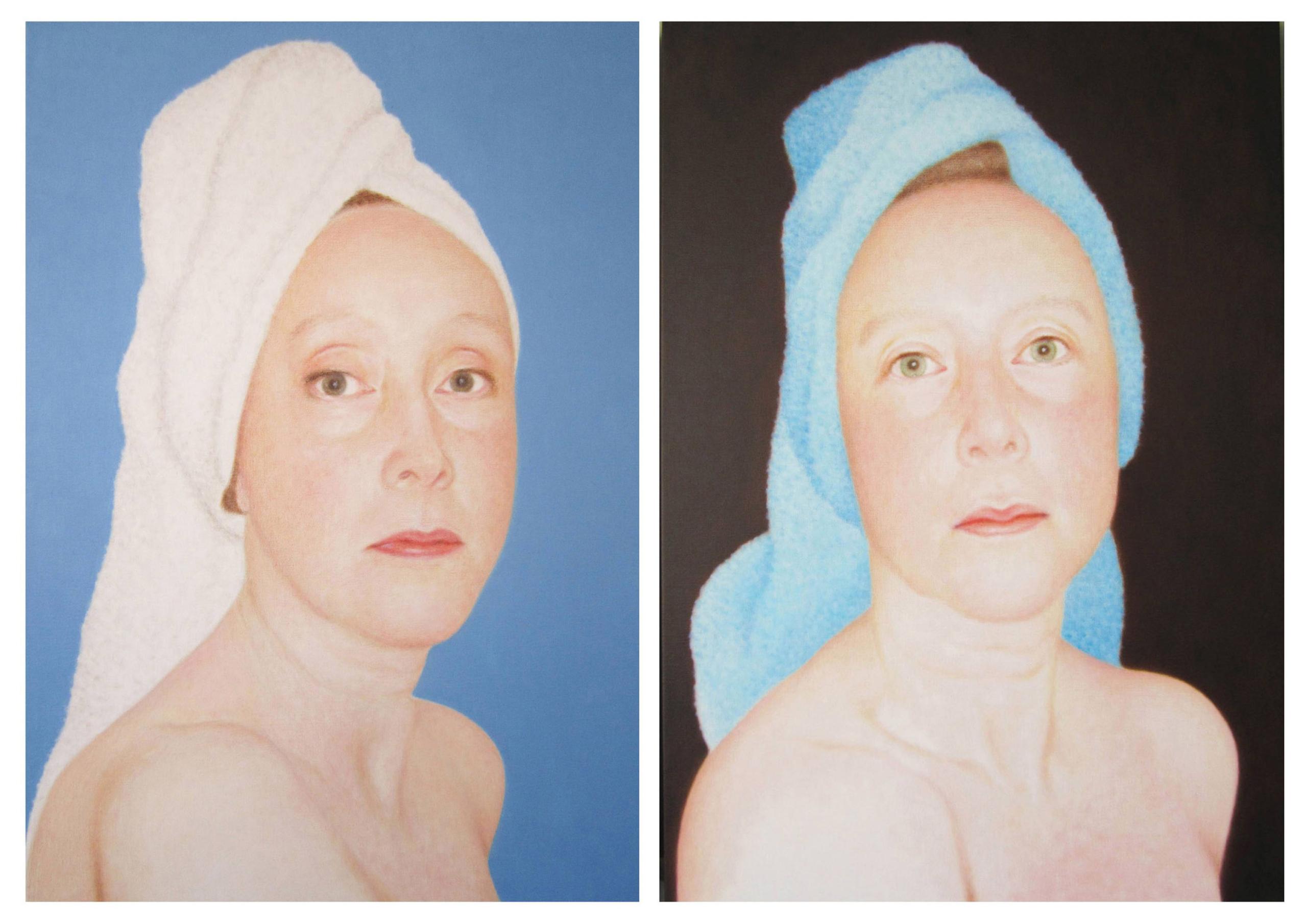 Self-portraits 19 01 23 and 15 09 14