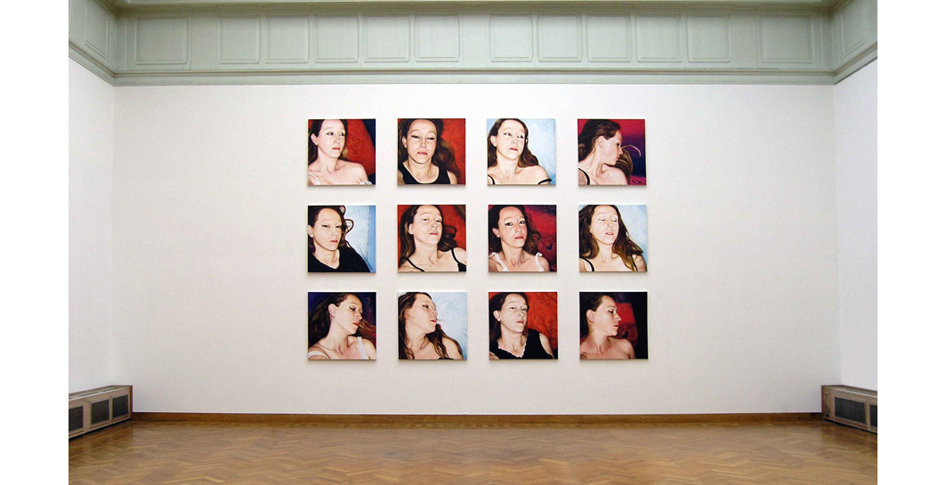 Lique Schoot, installation Pillow Portraits