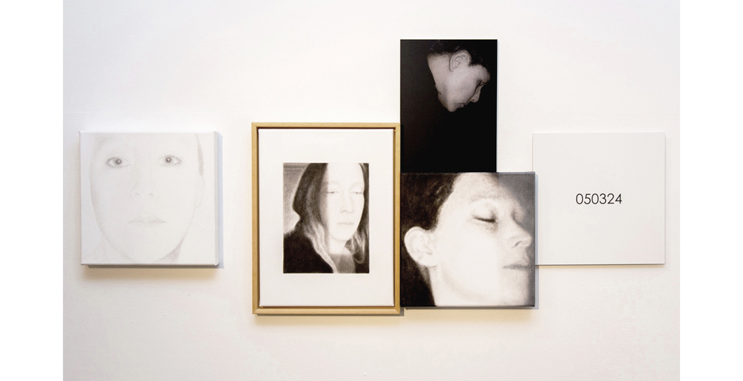Lique Schoot, installation Moments in Time #2