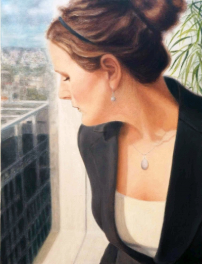 Eva, oil on canvas, 130 x 100 cm I 51.2 x 39,4 in