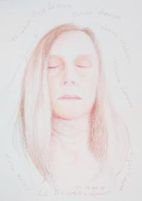 Lique Schoot, Self-portrait 19 02 19