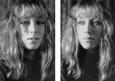 Lique Schoot, Self-portraits at the age of 21