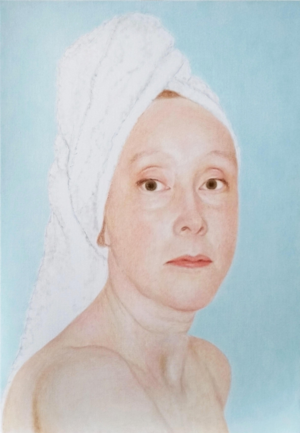 Lique Schoot, Self-portrait 19 10 25