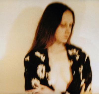 Lique Schoot, Self-portrait with Sunflower Blouse